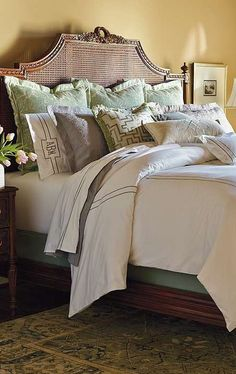 Featuring a wide array of neutral styles, the Mercer Bedding Collection will transform your master suite into a tranquil haven.