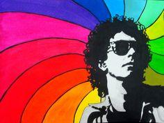 Soda Stereo, Perfect Love, Arte Pop, Film Music Books, Rock And Roll, Famous People, Deadpool, Retro, Stencil