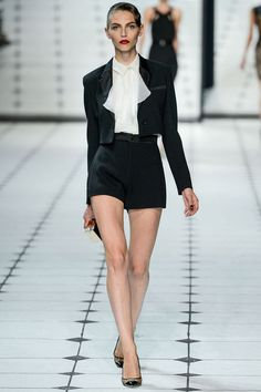 Shorts aren't going anywhere, FYI--we'll be seeing them all over the place.  #JasonWu #NYFW via Style.com