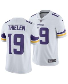 7473d908f Nike Men s Adam Thielen Minnesota Vikings Vapor Untouchable Limited Jersey  - White 3XL Minnesota Vikings