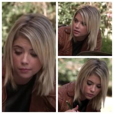 Loved Hannah's hair in the last episode of PLL