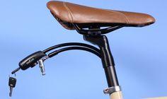 「INTERLOCK」はシートポスト内に組み込まれた自転車用ロック。うっかり落としてしまったり、どこかに置き忘れてしまうことがない。