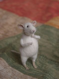 cute felt mouse by Special Handmades