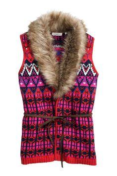 Gilet in maglia jacquard | H&M