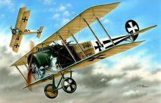 1916 Fokker DII Kest 4b, Freiburg