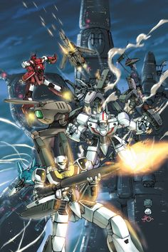 ROBOTECH ORIGINAL, as a kid I used to get up extra early to watch this, loved it! This is what started it All for me.