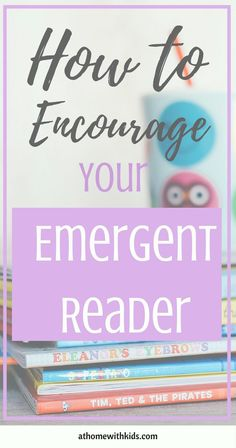 Do you have an emergent reader? The biggest part if brain development happens before a child enters school. Find out how to help your emergent reader. Click through to read more.