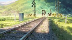 Discover a collection of 100 Original Background for animated movie Your Name (Kimi no na wa). Two strangers find themselves linked in a bizarre way. Scenery Background, Animation Background, Scenery Wallpaper, Background Patterns, Episode Interactive Backgrounds, Episode Backgrounds, Sky Anime, Anime Art, Name Anime