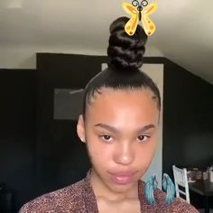Bomb UPDO style nappyme<br> Two Braids Hairstyle Black Women, Black Hair Updo Hairstyles, Ball Hairstyles, Braids For Black Hair, Black Girls Hairstyles, Curly Hair Bun Styles, Updo Styles, Natural Hair Styles, Rose Gold Makeup Looks