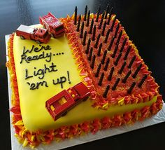 The post Funny joke firefighter birthday cake. 2019 appeared first on Birthday ideas. Birthday Cakes For Men, Firefighter Birthday Cakes, Number Birthday Cakes, Funny Birthday Cakes, Birthday Cake For Husband, Funny Cake, Cake Birthday, Fireman Cake, Firefighter Funny