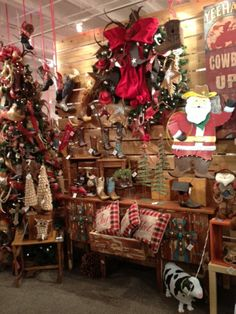 Christmas Display from our Dallas Showroom at the Dallas Market Center - Winter 2014! #burtonandburton #christmas