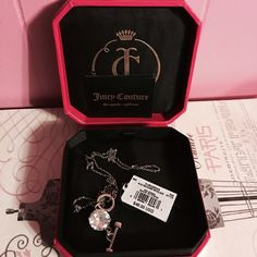 NWT Juicy Couture necklace. Mint condition. Still has tag. Would like to get my money back. Juicy Couture Jewelry Necklaces