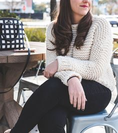 Simple Knit Sweater