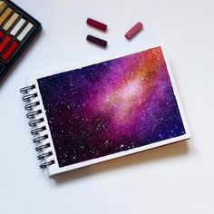 "2,388 Likes, 38 Comments - Z E E N T R E E A R T (@zeentreeart) on Instagram: ""Soft Pastel Galaxy"""
