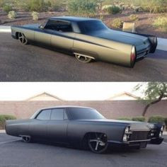 85f3fac89e6 Murdered Out Black Matte Cadillac Deville owned by by classicscene. Pedro  Costelas · American Classic Car