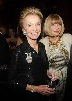 Lee Radziwill and Anna Wintour. Lee Radziwill, Anna Wintour, Isabella Blow, Anna Dello Russo, Jackie Kennedy, Southampton, Vogue, Classy Women, Role Models