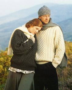 Irish knit sweaters