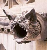 Washington National Cathedral bat gargoyle