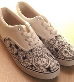 Sharpie Shoes