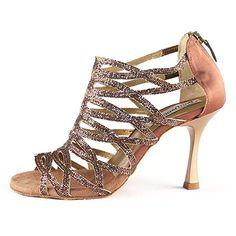 Schuhe & Handtaschen, Schuhe, Damen, Sneaker & Sportschuhe, Sport- & Outdoorschuhe, Tanzschuhe Dark Tan, Gladiator Sandals, Peeps, Peep Toe, Satin, Sneaker, Chic, Shoes, Amazon