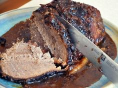 Beef Roast- I tried this and it was wonderful!