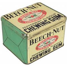 Beech-Nut Chewing Gum Store Display Tin