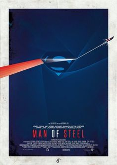 Man of Steel (2013) Fan Poster #ManofSteel #film