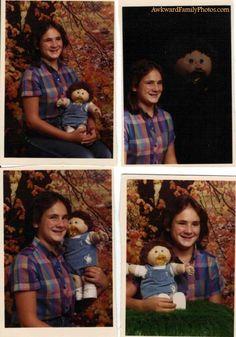 Someone posted my senior photos on awkward family photos...so proud!