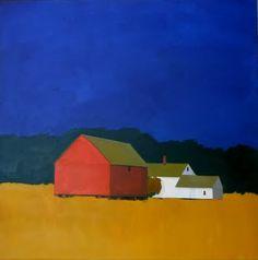 Paintings - Jean Jack Paintings September Light o/c, 40X40