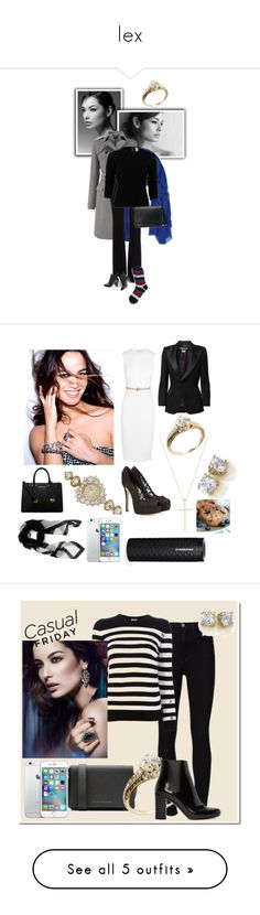 """""""lex"""" by starlord2spoopy ❤ liked on Polyvore featuring Tiffany & Co., Victoria Beckham, Junya Watanabe Comme des Garçons, Dolce&Gabbana, Longines, MICHAEL Michael Kors, Givenchy, Frame, Rumour London and Giuseppe Zanotti"""