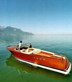 #seabuddy re-pin  #classicwoodboat  Riva Riviera Classic Boat