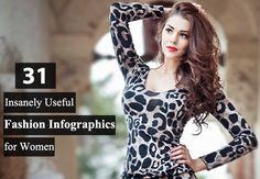 31 women fashion infographics