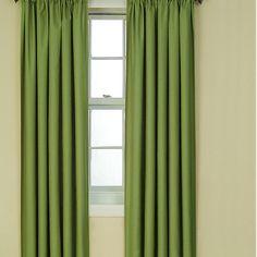 Eclipse Curtains Kendall Rod Pocket Window Single Curtain Panel & Reviews | Wayfair