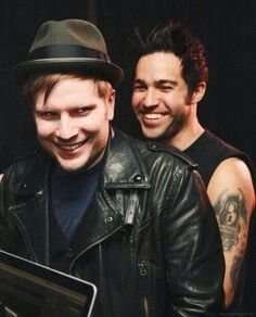 Patrick kinda looks evil in this picture... Adorably evil though