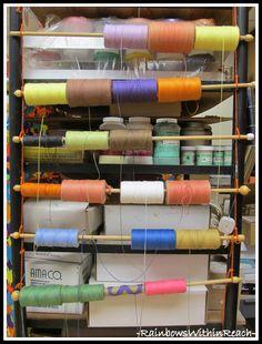 Art Room Organization (from Art Room RoundUP via RainbowsWithinReach)