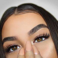 Eye Makeup Tips – How To Apply Eyeliner – Healthy Life Style Makeup Eye Looks, Eye Makeup Tips, Cute Makeup, Makeup Goals, Eyebrow Makeup, Gorgeous Makeup, Makeup Inspo, Beauty Makeup, Hair Makeup