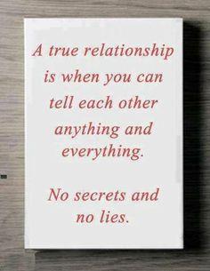 A true relationship...