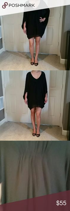 Dress Size XXS Aritzia Babaton black dress. Only worn once. Fits big so a girl that fits a small or extra small will be able to fit this dress. Aritzia Dresses Mini