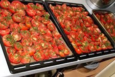 Mery13: Sušené paradajky Ale, Stuffed Peppers, Baking, Vegetables, Food, Meal, Patisserie, Stuffed Pepper, Backen