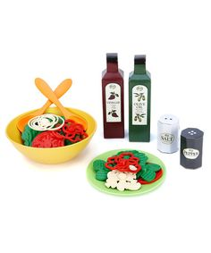 Take a look at this Recycled Salad Set by Green Toys on #zulily today!
