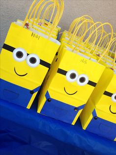 Despicable Me goodie bags