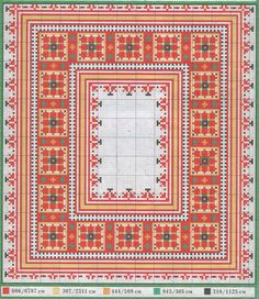 Palestinian embroidery Cross Stitch Borders, Cross Stitch Designs, Cross Stitch Patterns, Diy Embroidery, Cross Stitch Embroidery, Embroidery Patterns, Cross Stitch Freebies, Palestinian Embroidery, Chart Design