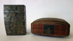 A Japanese metal 3-compartment stacking box by GARCIAHOUSE on Etsy