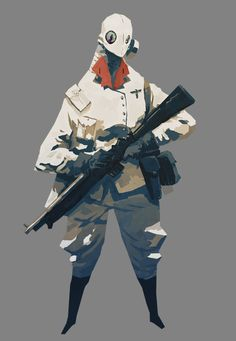 Character by Guillaume Singelin