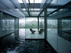 Kengo Kuma water glass villa | Kengo Kuma : Transparent Villa, surrounded with water | Sumally ...