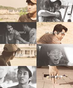 The Walking Dead Character Tropes » Glenn Rhee - the-walking-dead Fan Art