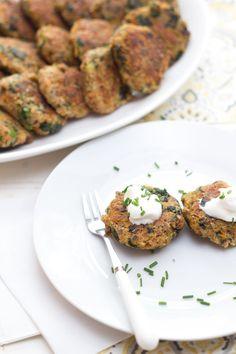 Tortitas de espinaca, quinoa y semillas de chía: | 16 Deliciosas maneras de incorporar semillas de chía a tu dieta