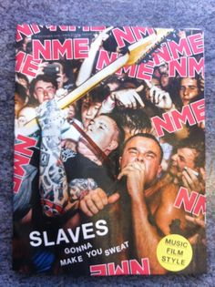 NME Magazine 14th October 2016 - Slaves, The , Green Day and much more!