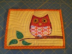 Scrappy Mug Rug by piecefulchaos, via Flickr    tons of cute mug rugs...no tutes or patterns
