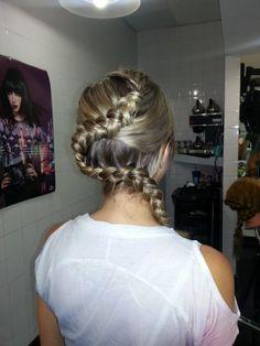 Snake Braid,  www.hairdesigners.ca Snake Braid, Something Beautiful, Hair Designs, Cute Hairstyles, That Look, Braids, Designers, Hair Styles, Wedding